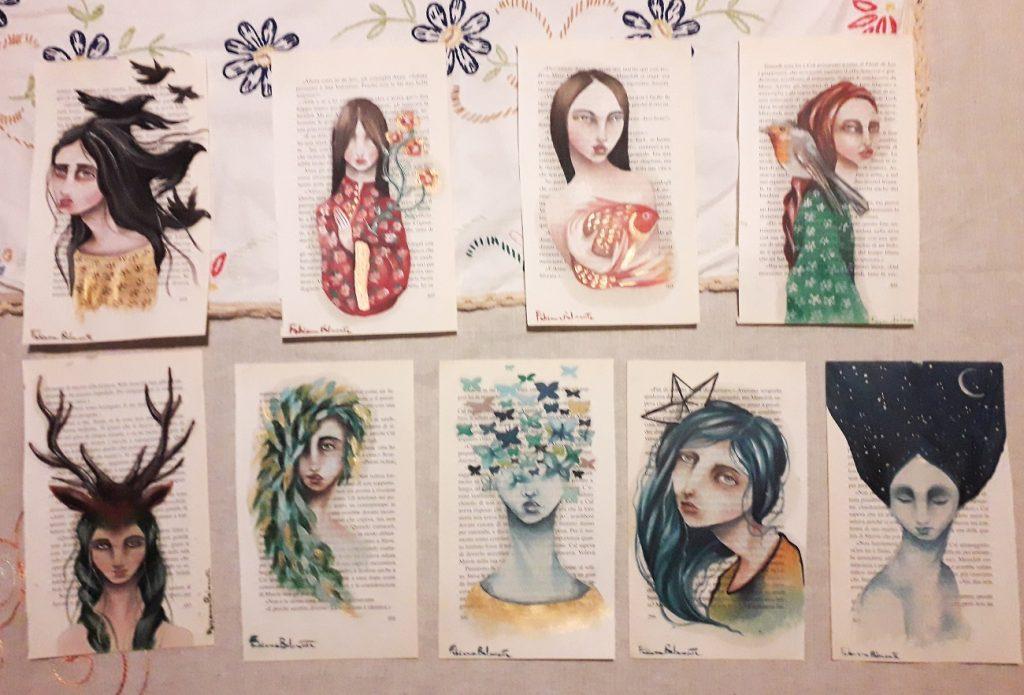 Le miniature disegnate da Fabiana Belmonte per una raccolta fondi contro l'emergenza da COVID-19